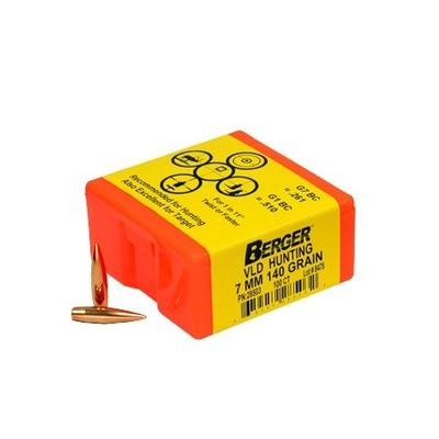 7MM 140 GRAIN VLD HUNTING 100CNT
