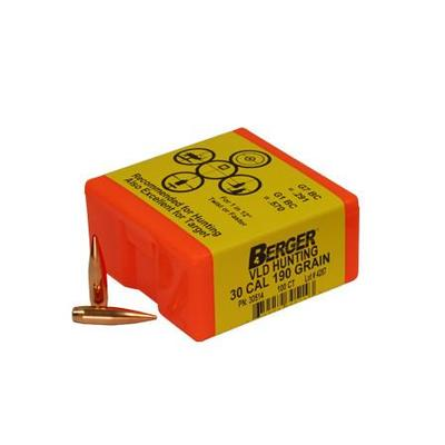 30CAL 190 GRAIN HUNTING VLD 100 CNT