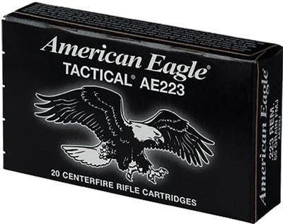 223REM AM-EAGLE 55 GRAIN FMJ