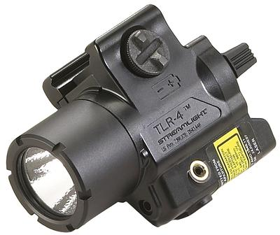 TLR-4 TACTICAL LIGHT RED LASER 125 LUMENS CR2 LITHIUM