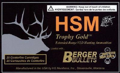 7MM RUM TROPHY GOLD 180GR