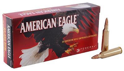 22-250 AMERICAN EAGLE 50GR JHP