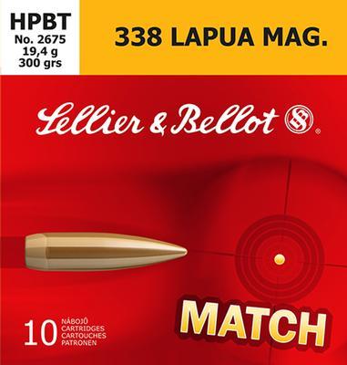338 LAPUA MATCH 300 GRAIN HPBT