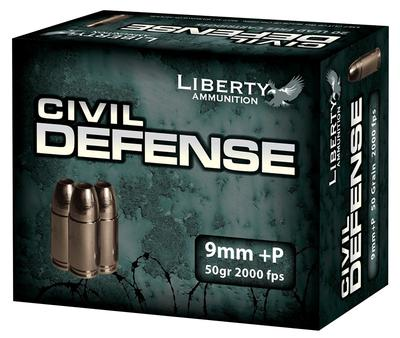 9MM+P 50GR CIVIL DEFENSE