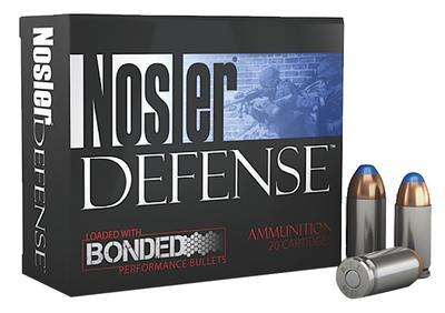 9MM LUGER DEFENSE 124GR BONDED TIPPED