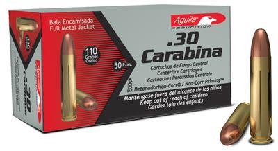 30 CARBINE 110 GRAIN FMJ
