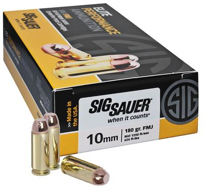 10MM ELITE PERFORMANCE 180GR FMJ