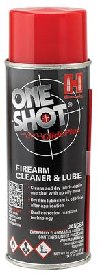 ONE SHOT GUN CLEANER/LUBE 10 OUNCE