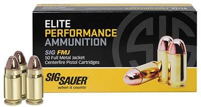 357MAG ELITE PERFORMANCE 125 GRAIN FMJ