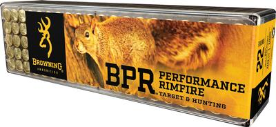 22LR BPR PERFORMANCE RIMFIRE 40 GRAIN HP