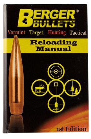 garys gun shop berger bullets 1st edition reloading manual rh garysgunshop com 22 Bullets for Reloading 308 Bullets for Reloading