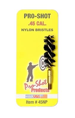 45 CAL NYLON PISTOL BRUSH