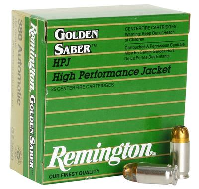 380ACP GOLDEN SABER 102 GRAIN