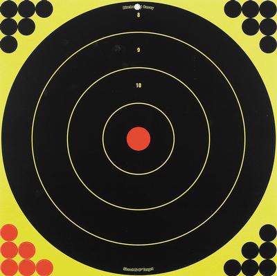 SHOOT-N-C 12` ROUND ADHESIVE TARGET