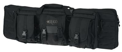 TACTICAL GUN  CASE BLACK 37`X14`X10`