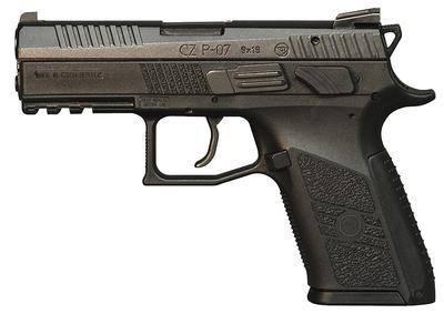 9MM P-07 BLACK 3.8 BBL