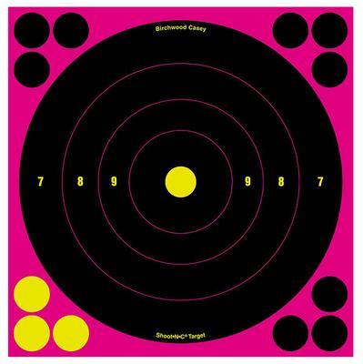 SHOOT N C 8 PINK ROUND