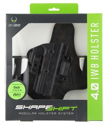 SHAPESHIFT 4.0 IWB COMPATIBLE WITH GLOCK 17/22 POLYMER BLACK RH