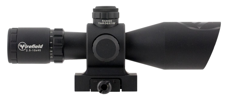 2.5- 10x 40mm Barrage Illuminated Mil Dot