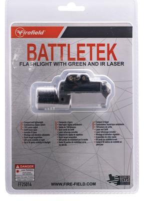 BATTLETEK LED 150 LUMENS CR123A  GREEN AND IR