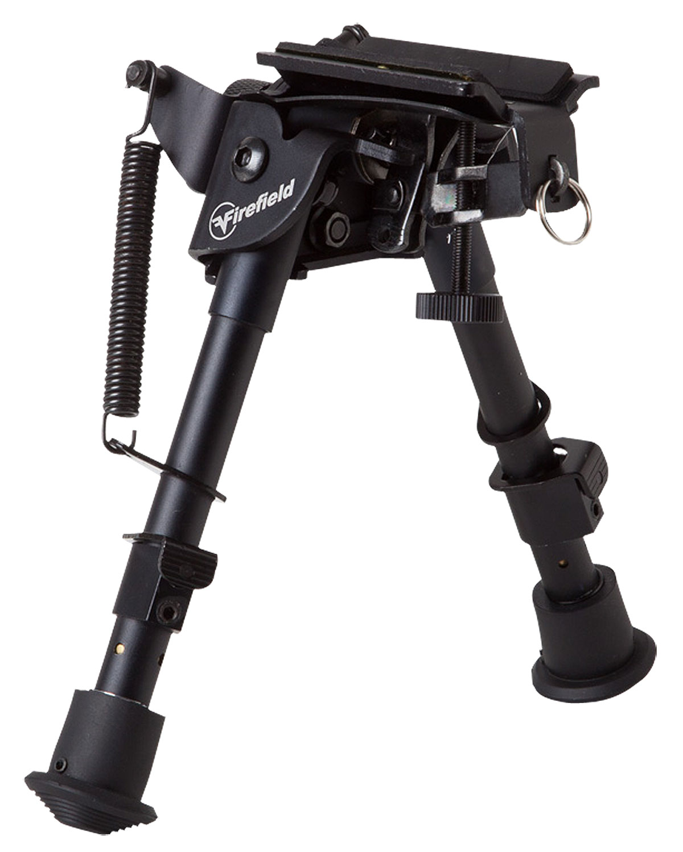 Oem Compact Bipod 6- 9 ` Black Aluminum