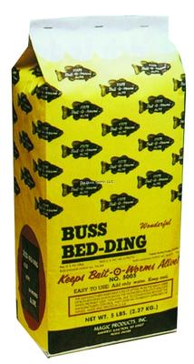 BUSS WORM BEDDING 5LB BAG