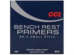 BR-4 SMALL RIFLE BENCH PRIMER 100 CNT
