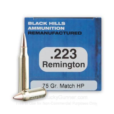 223 REM 75 GRAIN HOLLOW POINT