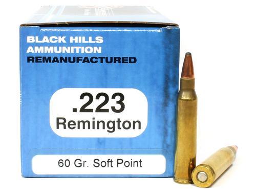 223 Rem 60 Grain Soft Point