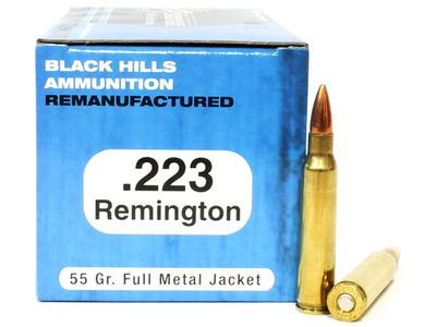223 REM 55 GRAIN FMJ
