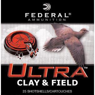 12GA ULTRA CLAYS 23/4` 1OZ #8 1180 FPS