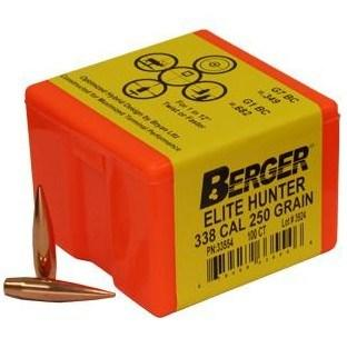 338CAL 250GR ELITE HUNTER