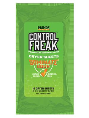 CONTROL FREAK DRYER SHEETS