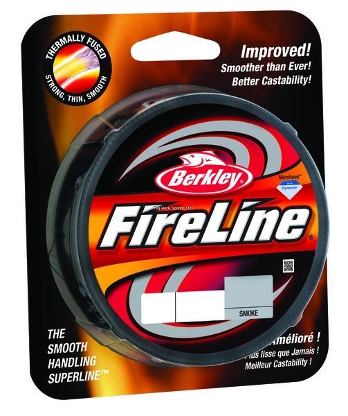 8lb Fireline 125yd Smoke