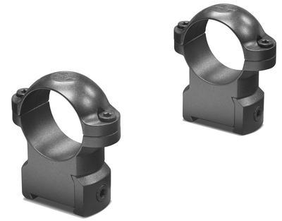 RINGMOUNT RINGS 2 PIECE 1` HIGH MATTE BLACK CZ 550
