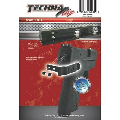 TECHNA CLIP FOR SW SHIELD 9/40