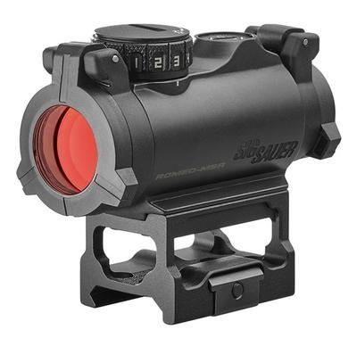 ELECTRO-OPTICS ROMEO-MSR 1X 20MM 2 MOA RED DOT BLACK
