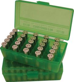 44/45 50 RND FLIP TOP AMMO BOX GREEN
