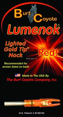 LUMENOK LIGHTED RED TIP NOCK