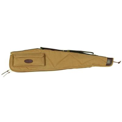 46` SCOPED RIFLE CASE KHAKI W/POCKET