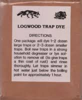 LOGWOOD DYE FOR TRAPS  1LB