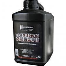 AMERICAN SELECT 8LB POWDER