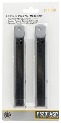 SIG AMPC-177-20 MAG P320 .177 20R 2PK