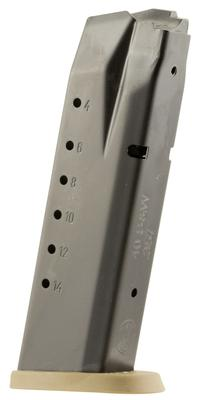 40SW MP40 15RND MAG W/FDE BASE