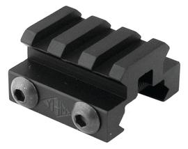 MINI RISER BLOCK 1.25` LONG BLACK