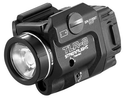 TLR-8 WEAPONLIGHT W/RED LASER