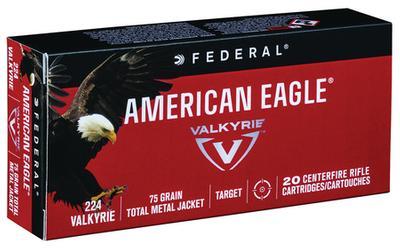 224 VALKYRIE 75GR TMJ AMERICAN EAGLE